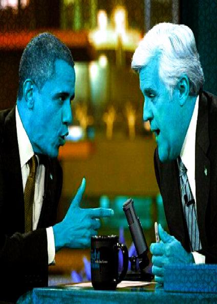 Obama To Take Over Leno's Tonight Show