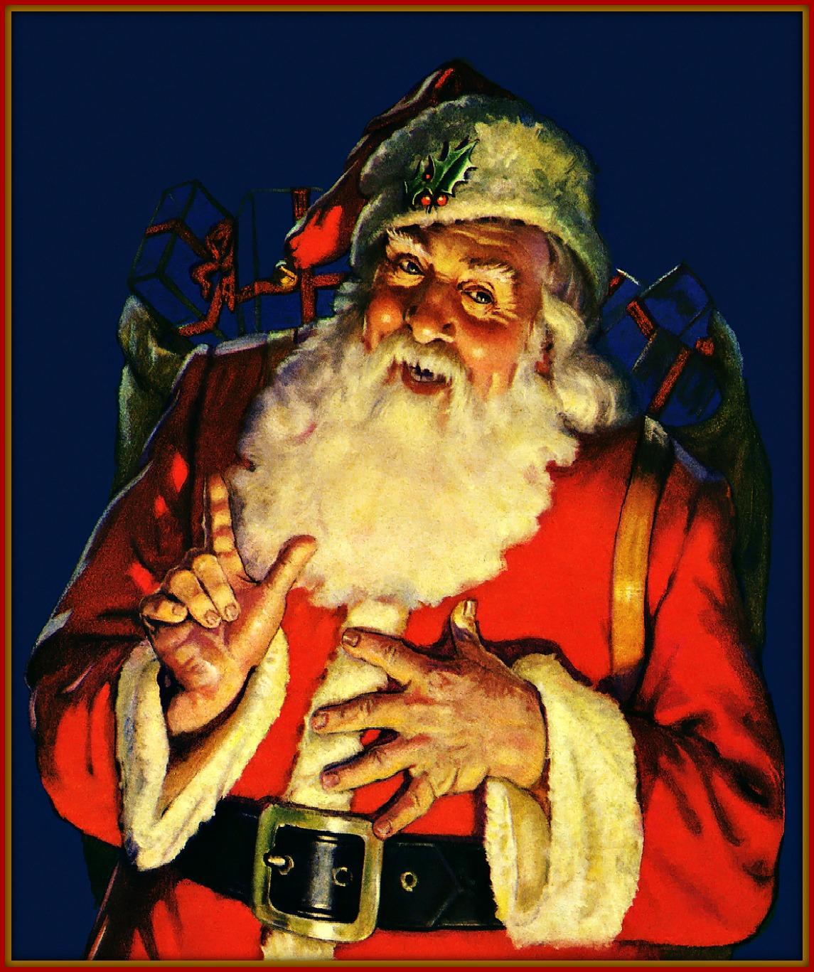 Santa's Warning Letter To Naughty Children