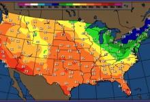 Alarmists Say Rising Spring Temps Evidence Of Global Warming