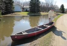 Fargo Canoer Mistakes Ditch Water For Sheyenne River