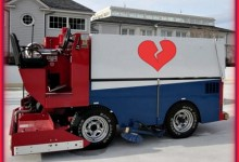 Drunk Zamboni Driver Ices Ex-Wife's Property