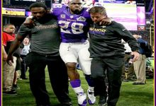 Wounded Knee Could Leave Adrian Peterson A Paralegal For The Rest Of His Life
