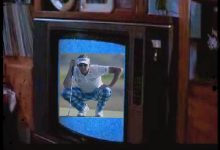 Golfer Ian Poultergeist Somehow Got Trapped In A Television Set