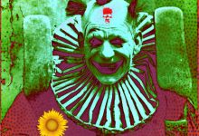 Uncle Screwball Warning Trick-Or-Treaters To Avoid Scary Clowns Like Him