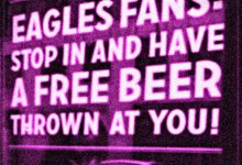 PHI Eagles Fans Kindly Asked To Wear Purple (Instead Of Green) To Super Bowl