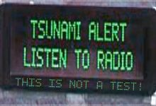 Tsunami False Alarm Issued For State Of North Dakota