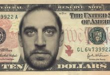 The New Aaron Rodgers $10 Bills Are Very Popular In Wisconsin