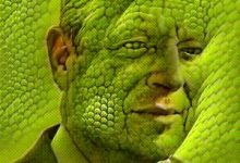 Global Warming Changing Algore Into A Reptile