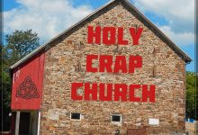 Profanity OK At Holy Crap Church