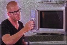 Moorhead Man Modifies Microwave Oven To Quickly Clear Snow From His Driveway