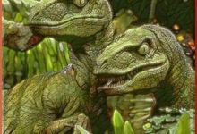 A Rare Pair Of Velociraptors Seen Wandering Through West Fargo