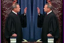 Chief Justice John Roberts Swears Himself In During Rare Senate Moment